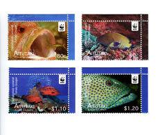 Aitutaki WWF Fish Issue Singles