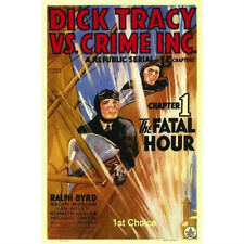 Dick Tracy vs Crime Inc - Classic Movie Cliffhanger Serial Dvd Ralph Byrd
