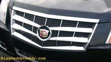 Cadillac CTS 2008 2009 2010 2011 ABS CHROME GRILLE OVERLAY INSERT 8 PIECE !!