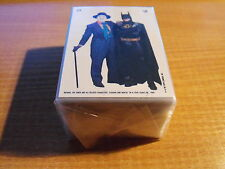 BATMAN MOVIE SERIES 2 COMPLETE SET INCLUDING STICKERS.