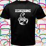 SCORPIONS Logo Rock Band Legend Men's Black T-Shirt Size S to 3XL