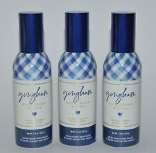 3 BATH & BODY WORKS BLUE GINGHAM CONCENTRATED ROOM SPRAY PERFUME AIR FRESHENER