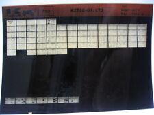 Kawasaki KZ750 LTD 1980 Parts List Microfiche NOS k384