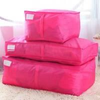 Home Storage Organizer Blanket Clothes Quilt Bedding Duvet Laundry Storage Bags