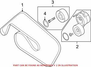 Genuine OEM Accessory Drive Belt Tensioner Assembly for Audi 06E903133Q