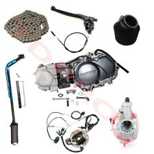 Geniune Lifan 125cc Engine Motor Manual Clutch w/ Wiring for CRF50 XR50 CT70 SSR
