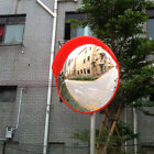 18'/24' Traffic Convex Mirror Wide Angle Safety Mirror Driveway Outdoor Security