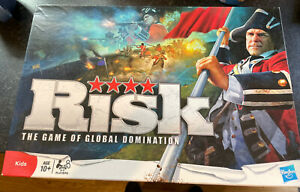 Hasbro - Risk - 2010 Edition - Nice Condition And Complete - Free U.K. Post XMAS