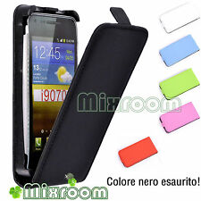 CUSTODIA COVER FLIP CASE PER SAMSUNG GALAXY S ADVANCE i9070