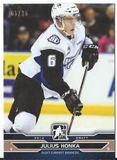 2014 ITG Draft Prospects JULIUS HONKA #13 Swift Current Broncos 05/25
