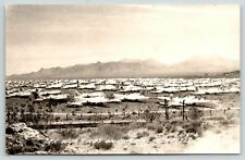 Kingman AZ~Army Air Field~WWII War Planes Ready for Sale or Scrap~B-17~1946 RPPC