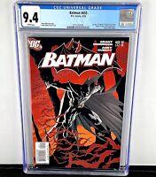 Batman #655 CGC 9.4! 1st App of Damian Wayne! Talia Al Ghul Cameo! 2006 WP