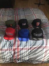 6 SnapBack Hats/caps - Mishka, Starter, Hundreds, Knicks -