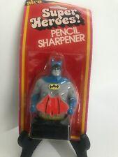 Vintage Unopened Alco Super Heroes! Pencil Sharpener Batman DC Comics 1978 New