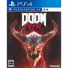 Bethesda DOOM VFR SONY PS4 PLAYSTATION 4 JAPANESE VERSION