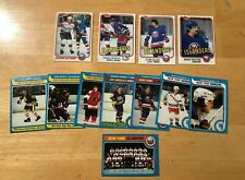 1980-81 / 1981-82 TOPPS HOCKEY LOT 12X MIKE BOSSY BOBBY CLARKE BRYAN TROTTER WOW