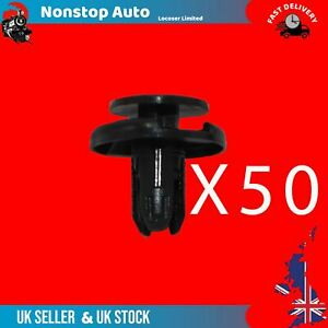 50X Griglia Paraurti Passaruota Paraspruzzi Clip Rifiniture Per Honda Crv 5Doors