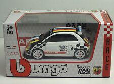 Bburago 38112 ABART 500 MIYR Belgio/Olanda - Race - METAL Scala 1:43