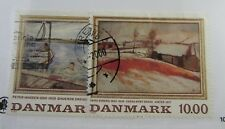 Denmark Sc #863-64 used stamps