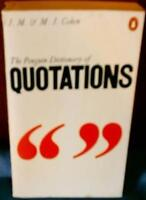Penguin Dictionary of Quotations