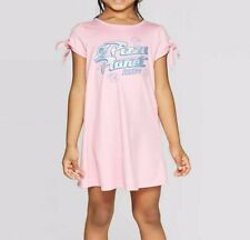 New Disney Pixar Toddler Girls' Disney Pizza Planet 4T Pink Dress