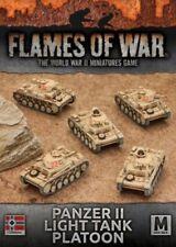 Flames of War: Afrika Korps Panzer II Light Tank Platoon