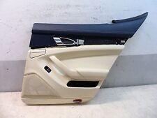 Pelle Pannello Porta Rivestimento Pacchetto-luce posteriore destra Porsche