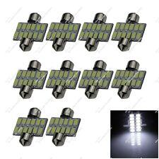 10X White 31mm 30mm 12 SMD 5630 LED Interior Lamp Light Festoon Bulbs Car ZI012