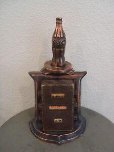 Old Metal Coca-Cola Desk VIP Executive Advertising Coke Soda Calendar