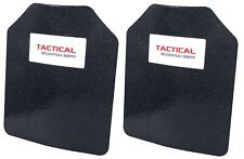 Tactical Scorpion Level III+ Body Armor Pair 8x10 Curved - Lighter Than AR500