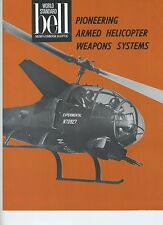 (102) Lot of Brochure :BELL JETRANGER SYSTEMS and WEAPONS EXPERIENCE TECHNOLOGY