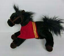 Wells Fargo MIKE Black Legendary Pony Horse Plush Stuffed Animal Toy 2016