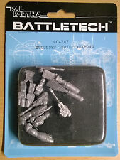 Ral Partha BattleTech 20-747 shoulder socket Weapons (Mint, Sealed) * Unseen *