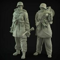 1/35 deutsches ww2 set 2 tlg Panzerknacker Soldaten Scale Resin Figure