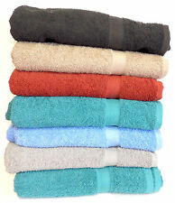 "7-Pack: 30"" x 54"" 100% Cotton Extra-Absorbent Bath Towels"