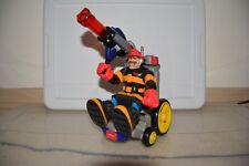 Fisher Price Rescue Heroes Wheelchair 2001 and Billy Blaze Fireman 1997