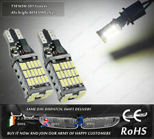 CanBus LED SMD W5W 501 T10 Wedge Xenon White Sidelights Parking Side Lights 12V