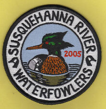 "Pa Pennsylvania Fish Game Commission 2005 4"" SRWA Red-Breasted Merganser Patch"