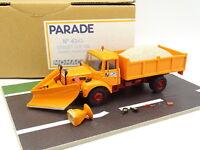 Parade Résine 1/43 - Berliet GLR 160 Chasse Neige DDE