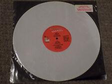 "BON JOVI Living In Sin Rare 1989 UK limited edition White Vinyl 12"" single"