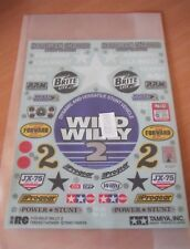 New Genuine Tamiya Wild Willy 2 Decals / Stickers 9495329/19495329 58242