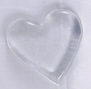 Blenko Paperweight Heart Crystal, Clear (9002P00101)