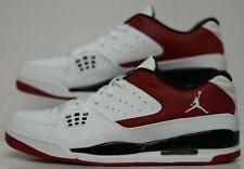 Jordan SC-1 LOW White/White0GYM Red-Black 599929-101 Mens Size 13.0