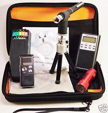 Ghost Hunt Kit - Spirit Box - Laser Pen - K2 KII EMF Meter - Recorder - Case +