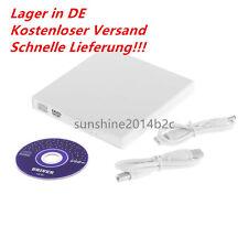 Extern USB 2.0 DVD Laufwerk ROM DVD Combo CD-RW Brenner für Laptop Notebook