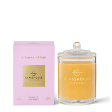 A Tahaa Affair 380g Triple Scented Candle Glasshouse Fragrances