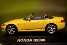 AUTOART 1/64 Honda S2000 AP1 Die Cast model LHD Yellow. BRAND NEW in box