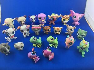 Rare Littlest Pet Shop lot LPS - 22 figures mixed years
