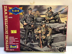 Revell 1/35 Scale WWII German Infantry Model Kit