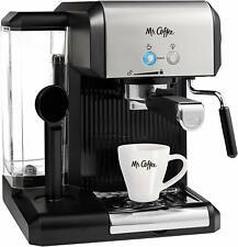 Mr. Coffee BVMCECMP70 Café Steam Automatic Espresso & Cappuccino Machine, Silver